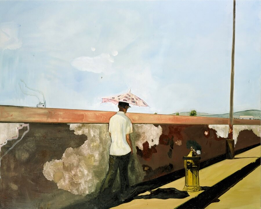 Peter Doig, Lapeyrouse Wall, 2004.
